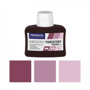 PIGMENT CONCENTRATE for paints Primacol burgund (nr 15) 80ml