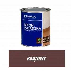 Floor and Concrete Paint - 0,75l brąz