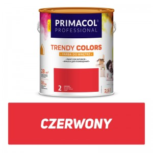 Paint Trendy Colors czerwona 2,5 l