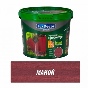 Luxdecor GARDEN WOOD IMPREGNATOR - 5l color: mahoń