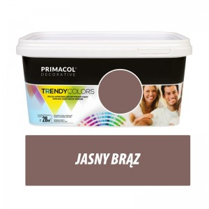 Paint Trendy Colors jasny brąz 5 l