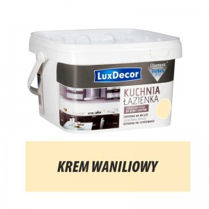 Luxdecor Kitchen and Bathroom Paint – Krem Waniliowy 2,5l