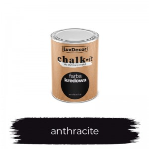 Farba kredowa Chalk-it Anthracite 125 ml