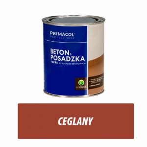 Floor and Concrete Paint - 0,75l ceglany