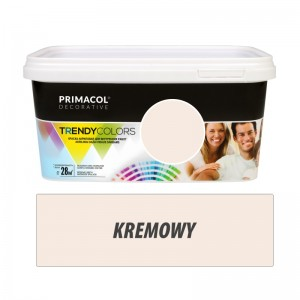 Paint Trendy Colors kremowa 5 l