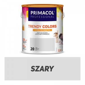 Paint Trendy Colors szara 2,5 l