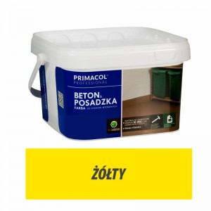 Floor and Concrete Paint - 2,5l żółty