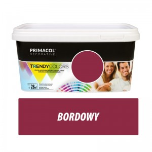 Paint Trendy Colors bordowa 5 l