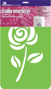 "Decorating Stencil - MINI ""Sweety"" nr 232"