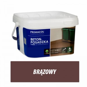 Floor and Concrete Paint - 5l brąz
