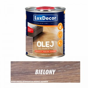 Olej do parkietów Luxdecor Premium bielony 0,75 l