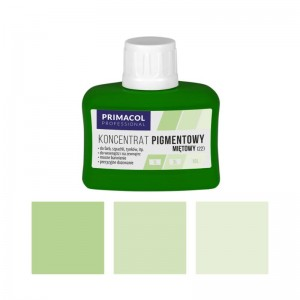 PIGMENT CONCENTRATE for paints Primacol miętowy (nr 22) 80ml