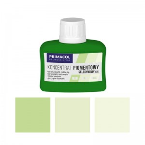 PIGMENT CONCENTRATE for paints Primacol seledynowy (nr 25) 80ml