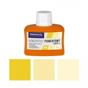 PIGMENT CONCENTRATE for paints Primacol złoty (nr 5) 80ml