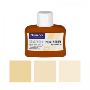 PIGMENT CONCENTRATE for paints Primacol piaskowy (nr 16) 80ml