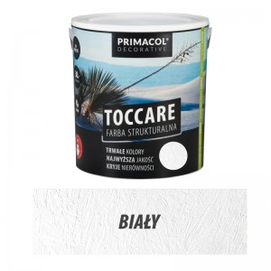 Structural paint Toccare WHITE 5l
