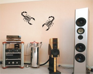 "Decorating Stencil - XXL ""Scorpio"" nr 44"