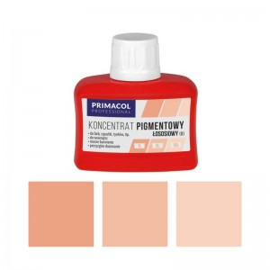 PIGMENT CONCENTRATE for paints Primacol łososiowy (nr 8) 80ml
