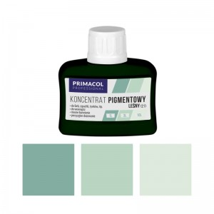PIGMENT CONCENTRATE for paints Primacol leśny (nr 21) 80ml
