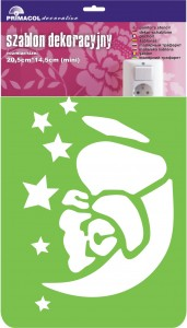 "Decorating Stencil - MINI ""Dreamy"" nr 243"