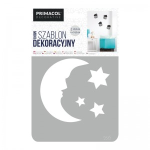 "Decorating Stencil - MINI ""Night"" nr 236"