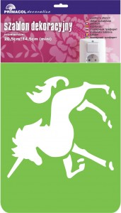 "Decorating Stencil - MINI ""Unicorn"" nr 239"