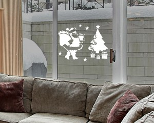 "Decorating Stencil - XXL ""SANTA"" nr 61A"