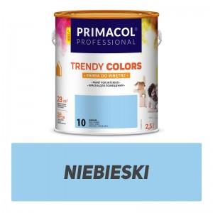 Paint Trendy Colors niebieska 2,5 l