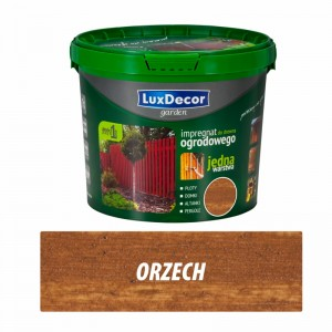 Luxdecor GARDEN WOOD IMPREGNATOR - 5l color: orzech
