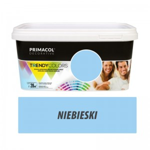 Paint Trendy Colors niebieska 5 l