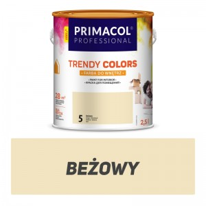 Paint Trendy Colors beżowa 2,5 l