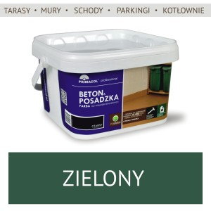 Floor and Concrete Paint - 2,5l zielony