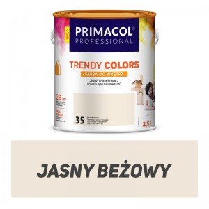 Farba Trendy Colors jasny beżowy  2,5 l