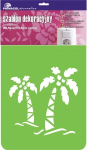 "Decorating Stencil - MINI ""Hawai"" nr 231"