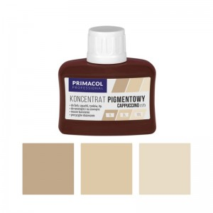 PIGMENT CONCENTRATE for paints Primacol cappuccino (nr 17) 80ml
