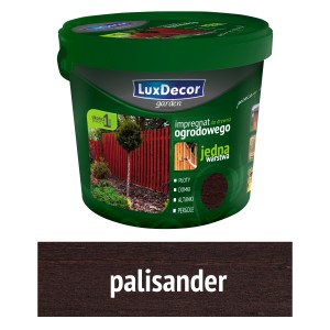Luxdecor GARDEN WOOD IMPREGNATOR - 10l color: palisander