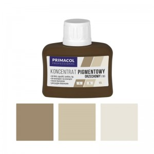 PIGMENT CONCENTRATE for paints Primacol orzechowy (nr 19) 80ml