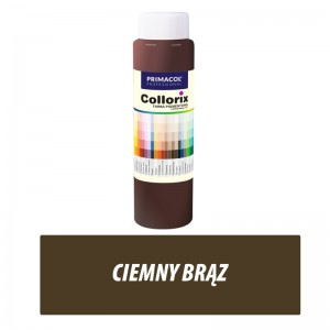 Collorix Pigment Paint - ciemny brąz 750 ml