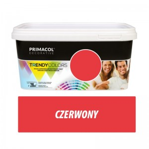 Paint Trendy Colors czerwona 5 l