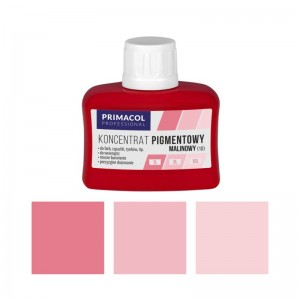 PIGMENT CONCENTRATE for paints Primacol malinowy (nr 10) 80ml