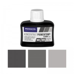 PIGMENT CONCENTRATE for paints Primacol czarny (nr 30) 80ml