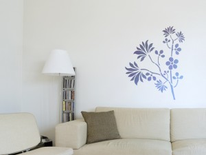 "Decorating Stencil - XXL ""HEDERA"" nr 80"