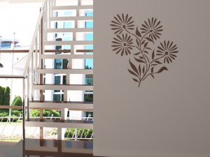 "Decorating Stencil - XXL ""Dandelion"" nr 86"