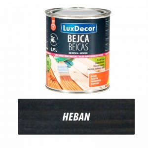 Luxdecor Bejca do drewna heban 750 ml