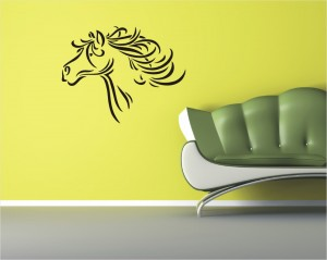 "Decorating Stencil - XXL ""Horse"" nr 20"