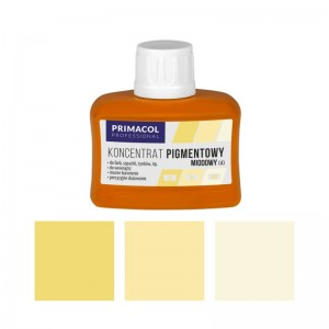 PIGMENT CONCENTRATE for paints Primacol miodowy (nr 4) 80ml