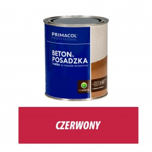 Floor and Concrete Paint - 0,75l czerwony