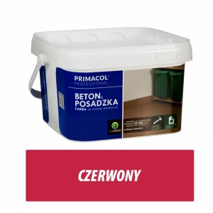Floor and Concrete Paint - 5l czerwony
