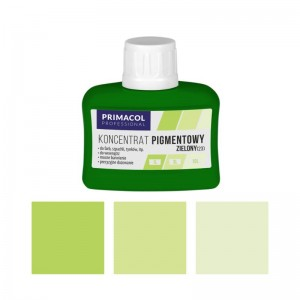 PIGMENT CONCENTRATE for paints Primacol zielony (nr 23) 80ml