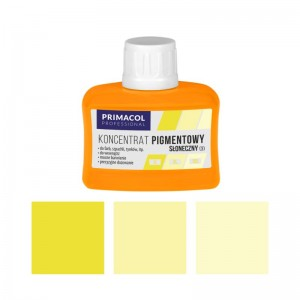 PIGMENT CONCENTRATE for paints Primacol słoneczny (nr 3) 80ml